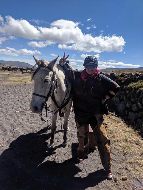 liz and horse