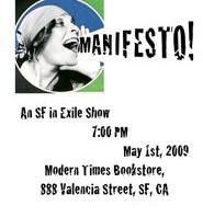 Manifesto overload – May 1, Modern Times Bookstore