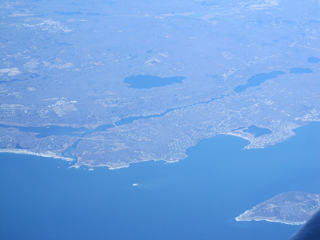 bonnet point aerial view