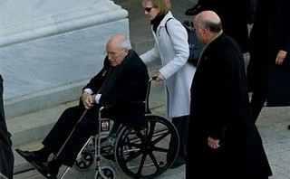 Deconstructing Cheney's De-Inaugural Wheelchair