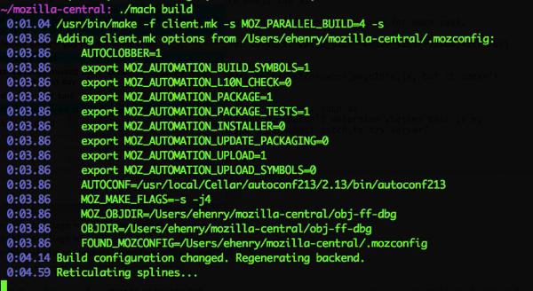 Firefox build