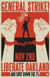 poster for liberate oakland