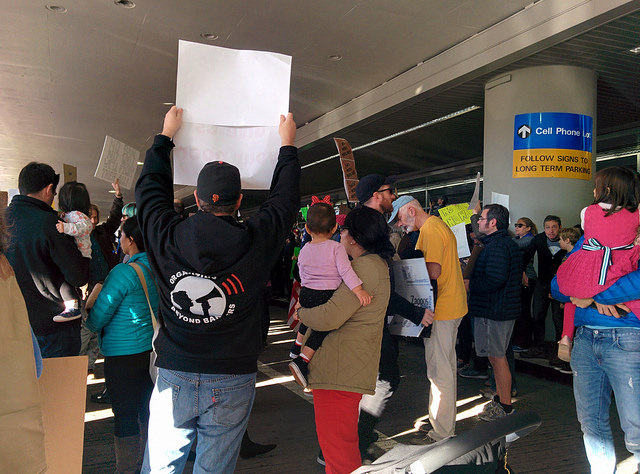 Sfo protest saturday