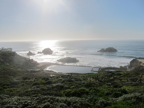 Sutrobaths sunset