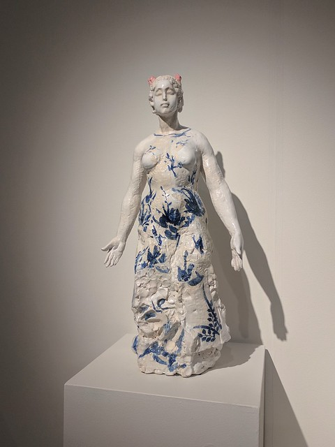 mulan ceramic sculpture