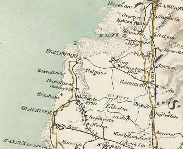 old map of the fylde