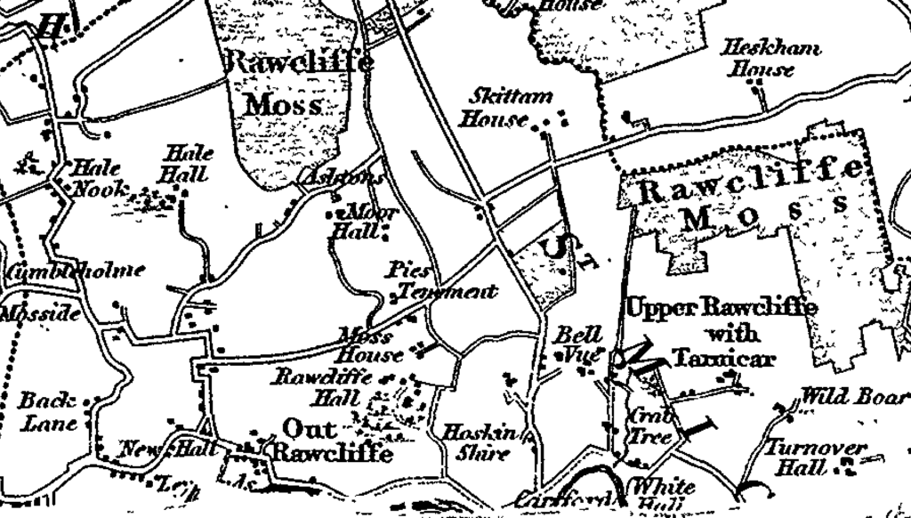 detail map rawcliffe