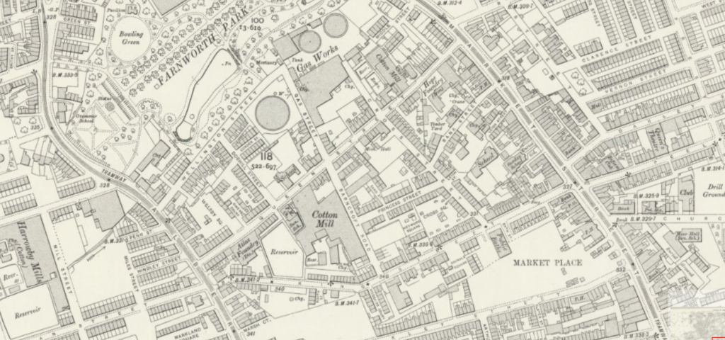 1808 map of farnworth