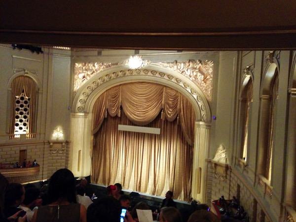 Opera house curtains